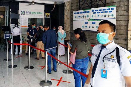 Tekan Penyebaran Virus Corona Bpjs Kesehatan Jakarta Pusat Terapkan Langkah Langkah Preventif